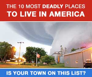 10 Most Deadly Places To Live In America