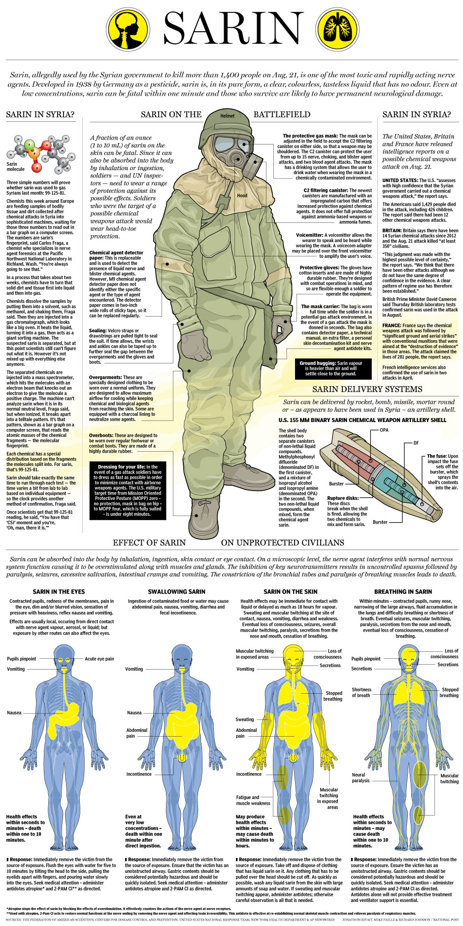 an overview of the health effects and nerve agents The effects of nerve agents are long lasting and increase with continued exposure survivors of nerve agent poisoning almost invariably suffer chronic neurological damage and related psychiatric effects [5].