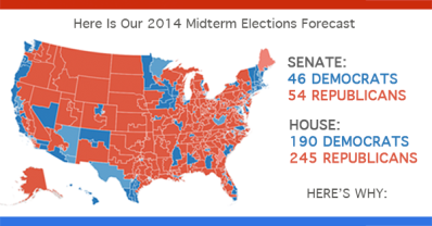 Here Is Our 2014 Midterm Elections Forecast
