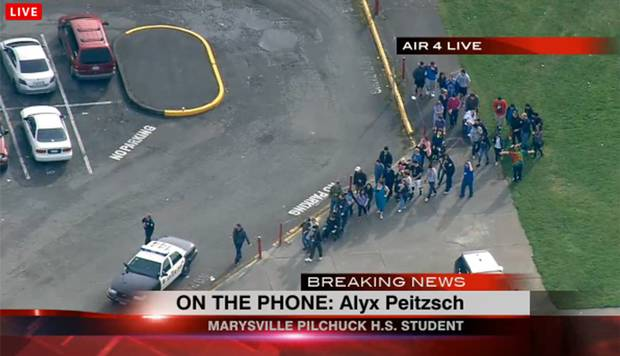 Seattle school shooting: 6 wounded, 1 suspect dead