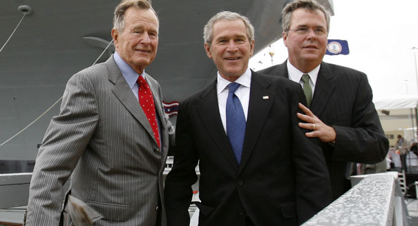 George W. Bush shares why his brother Jeb should run for president in 2016