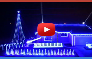 Christmas GALAXY lights Star-Wars themed…this in unbelievable