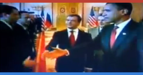 World leaders refuse to shake Obama's hand