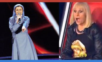 Nun Cristina shocks the crowd and the judges on The Voice