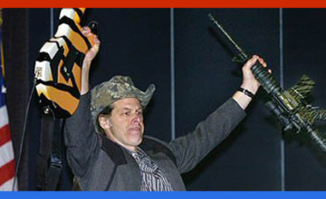 Ted Nugent dedicates a Rock National Anthem to 'American Sniper' Chris Kyle