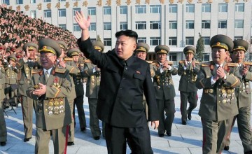 North Korean Dictator Kim Jong Un Reportedly Told the Army 'To Tear To Pieces The U.S.'