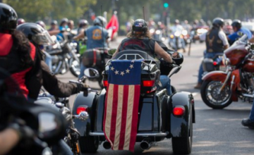 VIDEO: Muslims Try to Overpower Washington For Islam… Then These Bikers Responded