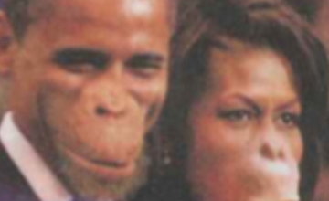 Newspaper in Troubles for Portraying Obama and Michelle As Apes