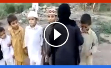 Shock Video Shows Muslim Children 'Playing' Suicide Bomb Game