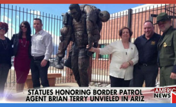 Memorial Statue of Killed Border Patrol Agent Brian Terry Revealed