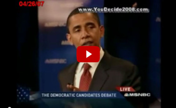 [VIDEO] Busted! Caught in a Lie - Obama Admits to Being OK With Iran Getting Nuclear Weapons