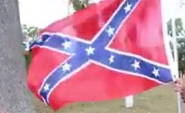 Find out Who's Waving This Confederate Flag and Making All LIBERALS OUTRAGED