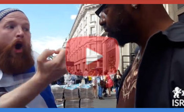 Video: One Brave Man Stands up to a Thousand Anti-Israel Anti-America Thugs, Check What Happens To Him