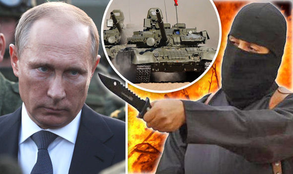 PUTIN goes to WAR against ISIS: Stop dithering and FIGHT