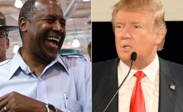 Ben Carson vs. Donald Trump...Carson Knocks Trump OUT!!!