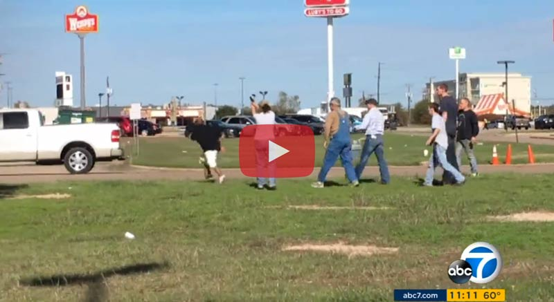 VIDEO: THIS Is Why You DON'T Mess With TEXAS!! Thief Is Met With...