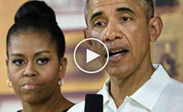 First Lady Michelle Obama Openly Calls President Obama A 'Bum' On Camera!!!