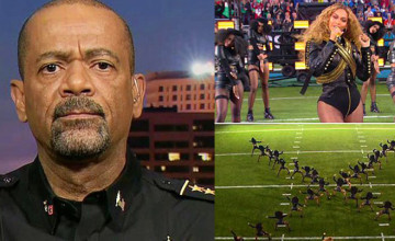 Sheriff Clarke BRILLIANTLY Calls Out Double Standard Of Beyoncé's Black Panther Super Bowl Performance!!!