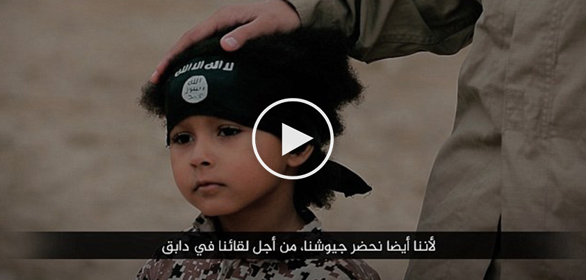 'Jihadi Junior' Is A 4-Year-Old ISIS Member...The BRUTAL Act He Just Committed...