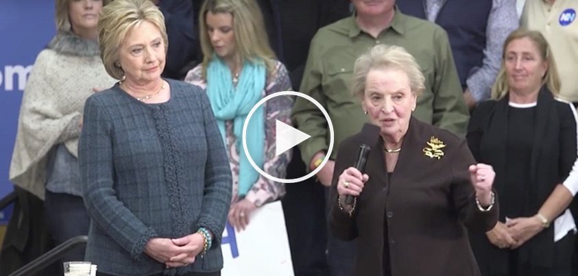 Madeline Albright: If You're A Woman And Don't Support Hillary, You're Going To Hell
