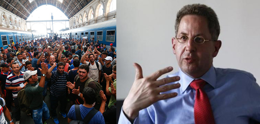 Germany's Head Of Domestic Intelligence AFFIRMS Terrorists Are Disguised As Refugees