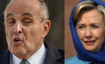 "Giuliani: Hillary Clinton Is A ""Founding Member"" Of ISIS"