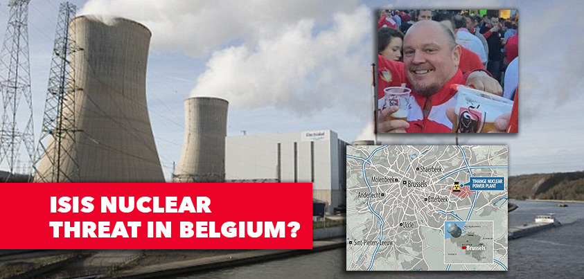 POSSIBLE ISIS NUCLEAR TERROR ATTACK IN BELGIUM!!! Security Guard Murdered, Security Pass Stolen...
