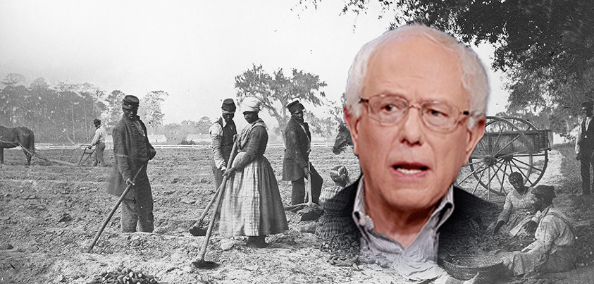 Bernie Sanders Apologizes For Slavery, Wants To Pay Back African-Americans