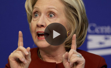 Hillary Clinton Denies Playing 'Woman Card'...This Video Proves Otherwise!