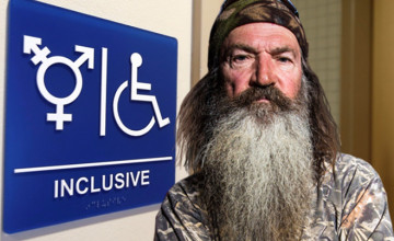 Duck Dynasty's Phil Robertson SLAMMED Transgender Bathroom Policies! What He Said...