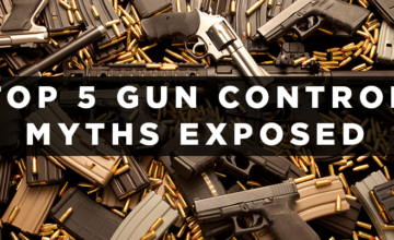 Here's How To Respond To The Top 5 Gun Control Myths!!!
