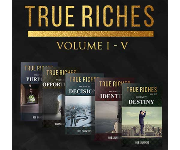 True Riches Series By Rob Saunders Ad
