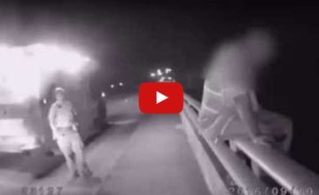 Cop Saves Man Comitting Suicide