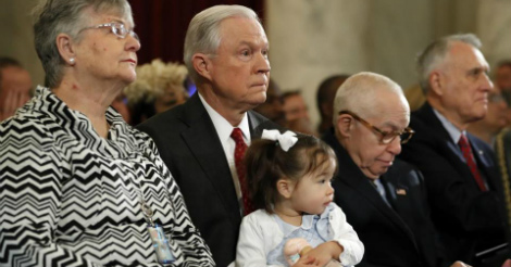 Asian grandchildren of Jeff Sessions mocked by liberals