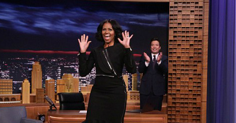 Michelle Obama says the unthinkable on Fallon