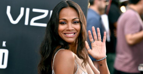 Zoe Saldana risks everything for Trump