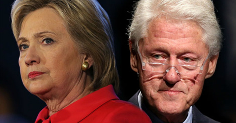 Bill and Hillary Clinton are finished