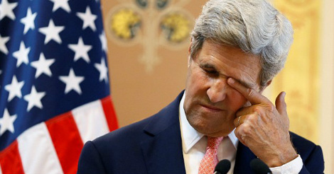 John Kerry gets bad news after scolding Trump