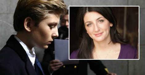 Katie Rich is FINISHED after mocking Barron Trump