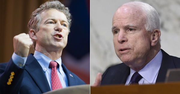 Rand Paul DESTROYS John McCain for Attacking President Trump