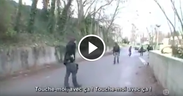 Muslim Refugees Attack Frenchman... But He Has a Deadly Surprise For Them...