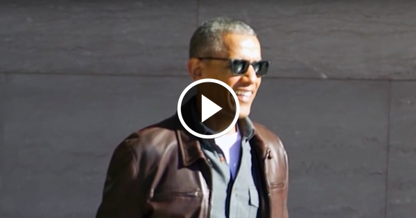 SMUG Obama Seen Laughing Off Wiretapping Charges