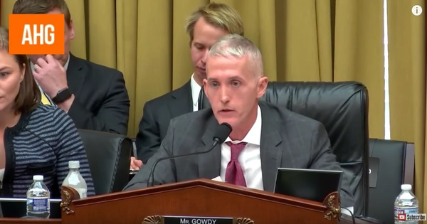 What Trey Gowdy Did His First Day Back in Congress Will AMAZE You