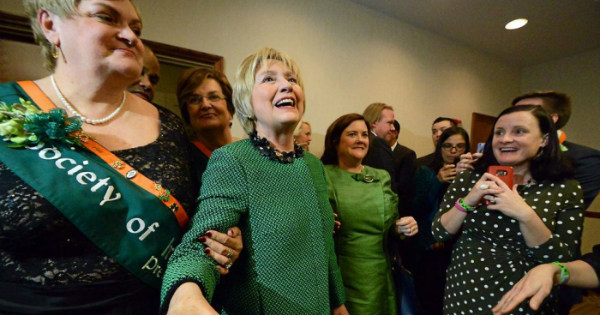 Hillary Clinton Spotted Stumbling Out of a Party DRUNK