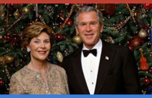 Why president G. W. Bush never left the white house until the day after Christmas
