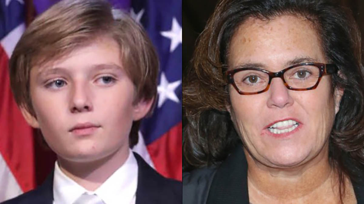 "Barron Trump Autistic?"" O'Donnell tweeted. ""[I]f so, what an ..."