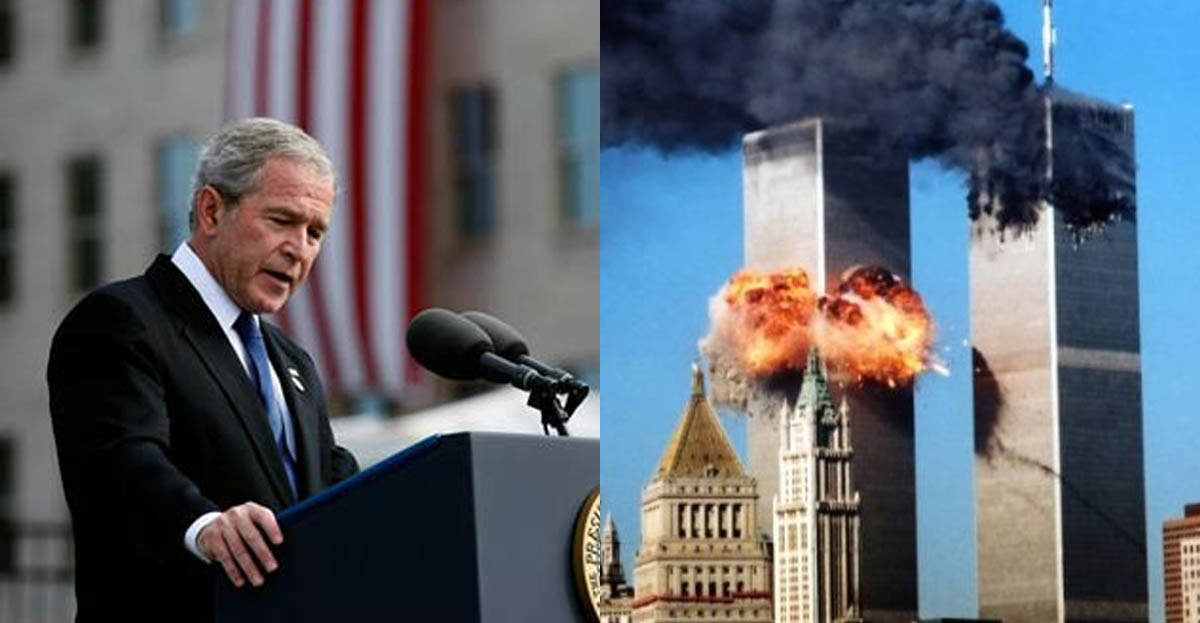 """bush response to 911 terrorist attacks essay The two other planes involved in the 9/11 terrorist attacks had slightly  country  was an attack on all humanity"""" (the us and int'l response to 9/11)  president  george w bush authorized the national security agency in."""
