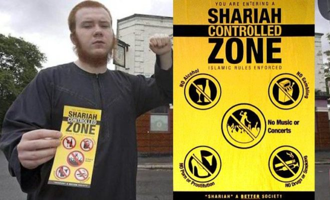 Europe has effectively surrendered to Sharia Law
