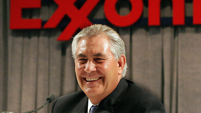 Trump may pick Exxon chief Tillerson for top role