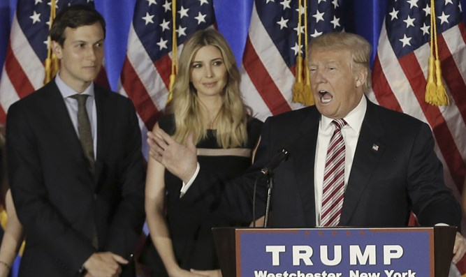 Trump has come to rely on Ivanka and Jared Kushner